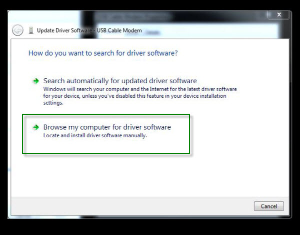 Drivers and Firmware: Windows 7: USB Drivers Installation