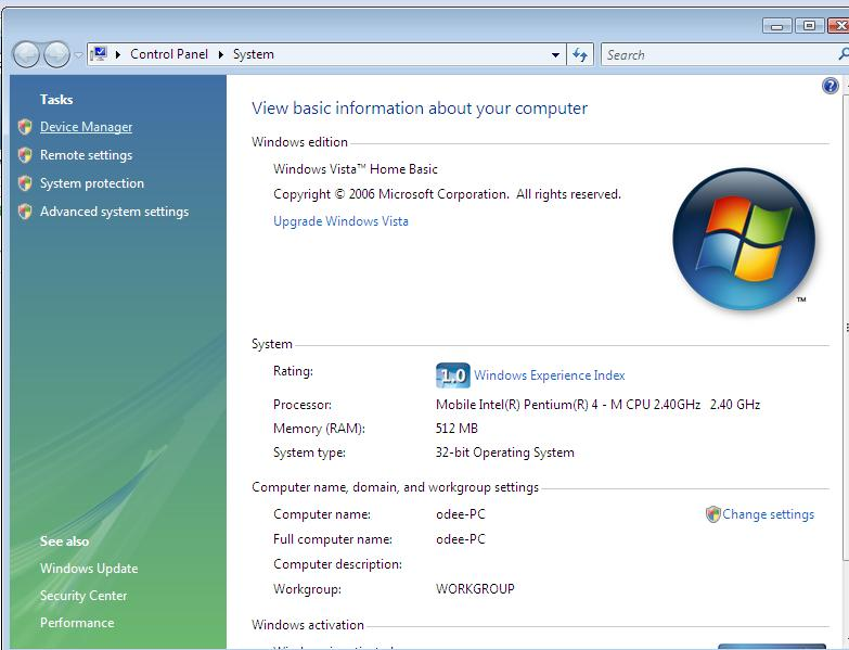 General FAQs: Troubleshooting Connection in Windows VISTA Without