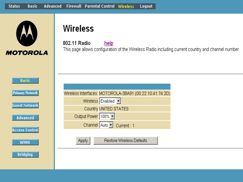 General FAQs: SBG901: WPA-PSK Wireless Setup (Guest Network)