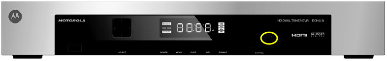 General FAQs: IR Receiver Location on Set Top Boxes