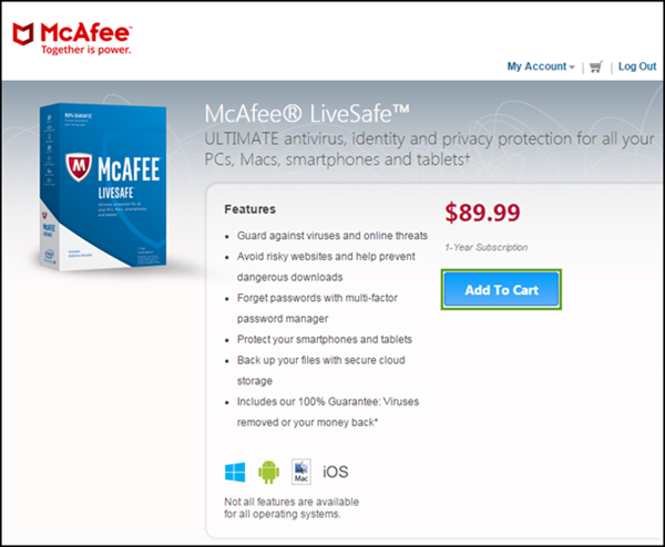 General FAQs: McAfee® MLS: Subscription Renewal