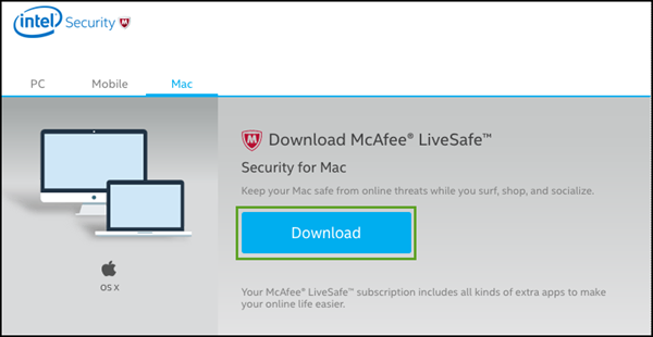 General FAQs: McAfee® SHI: McAfee® LiveSafe Installation